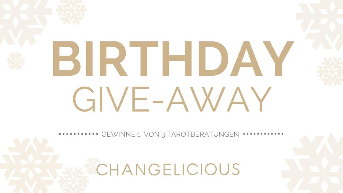 geburtstag, changelicious, give-away, tarot gratis, tarotberatung, tarot online, mademoiselle tarot, tarot umsonst, birthday gift, geschenk, gratis, spirit coaching, facebook,
