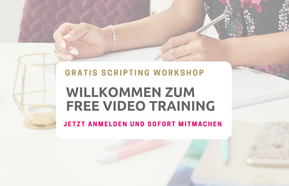 Scripting, Manifestieren, Ziele verwirklichen, Free Video Training, Melinda Cange, Visualisieren, Schreib es in die Realität, Skripting, Gratis Workshop, kostenfreier Videokurs