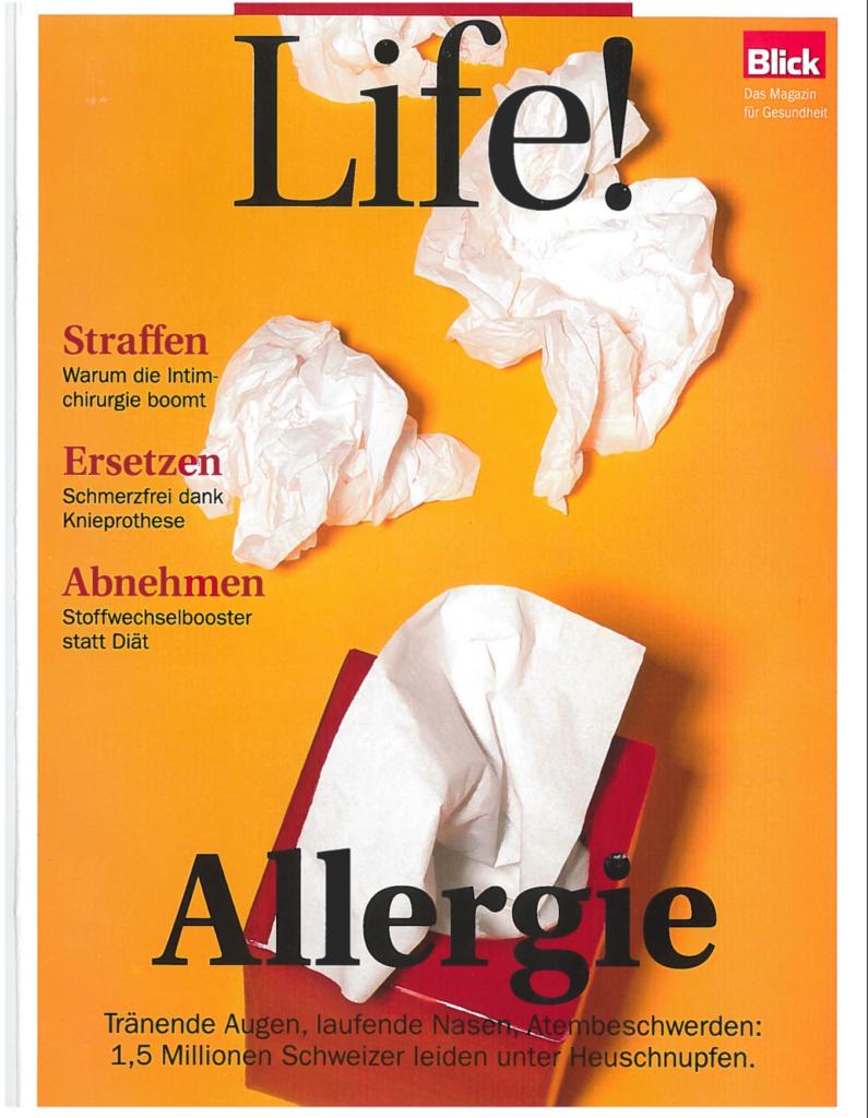 Life!Magazin, Blick, PR, Pressebericht, Downshiften, interview, changelicious in der Presse, Melinda's Pressebericht, Interview mit changelicious, Blick 2017, März 2017